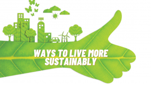 Ways to live more sustainably